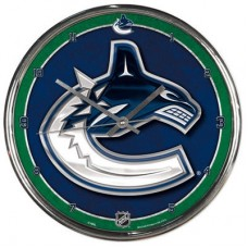 Vancouver Canucks - Round Wall FF NHL Hodiny