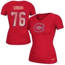 Montreal Canadiens Dámske - P.K. Subban NHLp Tričko