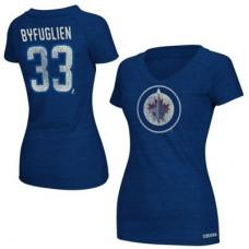 Winnpeg Jets Dámske - Dustin Byfuglien NHLp Tričko