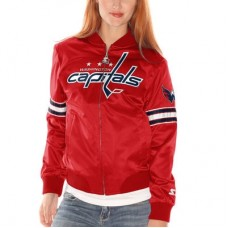 Washington Capitals dámska - Starter Blitz Satin NHL Bunda