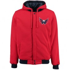 Washington Capitals - Fleece-Nylon Reversible NHL Bunda