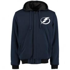 Tampa Bay Lightning - Fleece-Nylon Reversible NHL Bunda