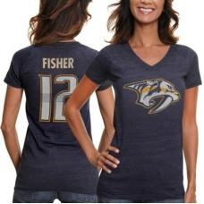 Nashville Predators Dámske - Mike Fisher NHLp Tričko