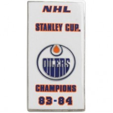 Edmonton Oilers - 83-84 Stanley Cup Champs NHL Odznak