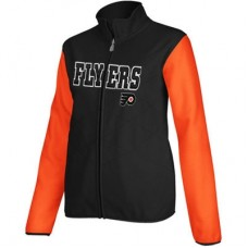 Philadelphia Flyers dámska - Core Full Zip Fleece NHL Bunda