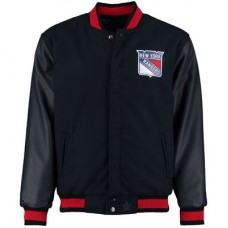 New York Rangers - Melton-Nylon Reversible NHL Bunda