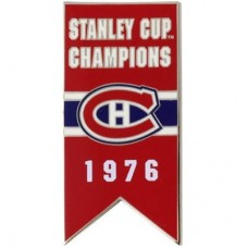 Montreal Canadiens 1976 Stanley Cup Champs NHL Odznak
