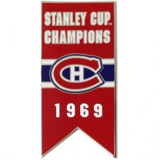 Montreal Canadiens 1969 Stanley Cup Champs NHL Odznak
