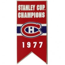 Montreal Canadiens 1977 Stanley Cup Champs NHL Odznak