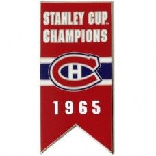Montreal Canadiens - 1965 Stanley Cup Champs NHL Odznak