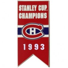 Montreal Canadiens - 1993 Stanley Cup Champs NHL Odznak
