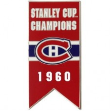 Montreal Canadiens - 1960 Stanley Cup Champs NHL Odznak
