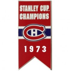 Montreal Canadiens - 1973 Stanley Cup Champs NHL Odznak