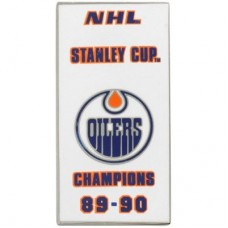 Edmonton Oilers - 89-90 Stanley Cup Champs NHL Odznak