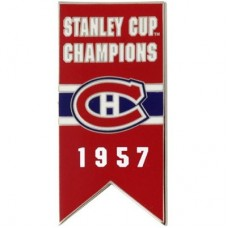 Montreal Canadiens - 1957 Stanley Cup Champs NHL Odznak
