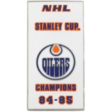 Edmonton Oilers - 84-85 Stanley Cup Champs NHL Odznak
