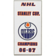 Edmonton Oilers - 86-87 Stanley Cup Champs NHL Odznak