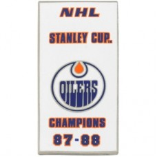 Edmonton Oilers - 87-88 Stanley Cup Champs NHL Odznak