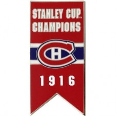 Montreal Canadiens - 1916 Stanley Cup Champs NHL Odznak