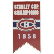 Montreal Canadiens - 1958 Stanley Cup Champs NHL Odznak
