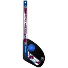 Colorado Avalanche Detská - Hat Trick Plastová NHL Mini Hokejka