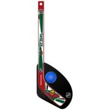 Minnesota Wild Detská - Hat Trick Plastová NHL Mini Hokejka