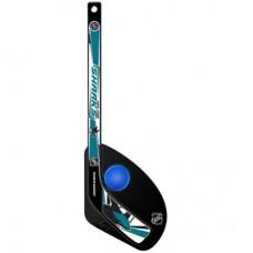 San Jose Sharks Detská - Hat Trick Plastová NHL Mini Hokejka