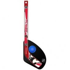Calgary Flames Detská - Hat Trick Plastová NHL Mini Hokejka