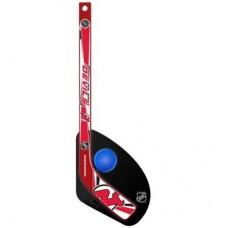 New Jersey Devils Detská - Hat Trick Plastová NHL Mini Hokejka