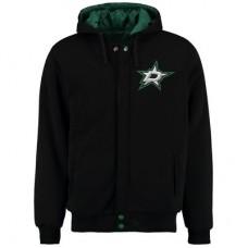 Dallas Stars - Fleece-Nylon Reversible NHL Bunda