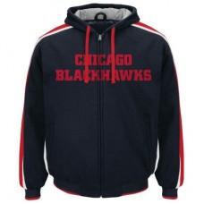 Chicago Blackhawks - Wordmark Heavyweight Fleece NHL Bunda