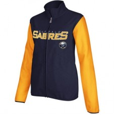 Buffalo Sabres - dámska Core Full Zip Fleece NHL Bunda