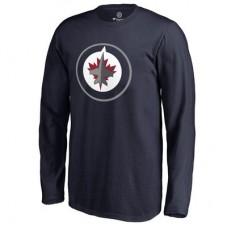 Winnipeg Jets Detské - Primary Logo NHL Tričko s dlhým rukávom
