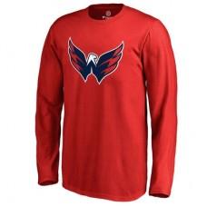 Washington Capitals Detské - Primary Logo NHL Tričko s dlhým rukávom