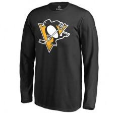Pittsburgh Penguins Detské - Primary Logo NHL Tričko s dlhým rukávom