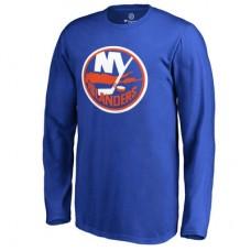 New York Islanders Detské - Primary Logo NHL Tričko s dlhým rukávom