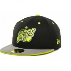 Seattle SuperSonics - Deez Neon 59 FIFTY LD NBA Čiapka