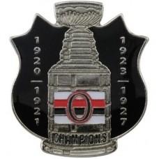 Ottawa Senators - Stanley Cup NHL Odznak