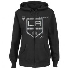 Los Angeles Kings Dámska - Funnel Neck NHL Mikina s kapucňou
