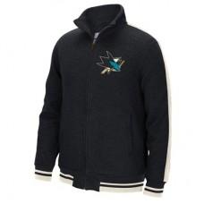 San Jose Sharks - CCM Full Zip IT NHL Track Bunda