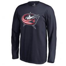 Columbus Blue Jackets Detské - Primary Logo NHL Tričko s dlhým rukávom