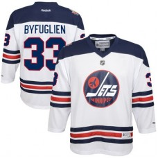 Winnipeg Jets Detský - Dustin Byfuglien 2016 Heritage Classic Replica NHL Dres
