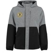 Boston Bruins - Rinkside Polk Full-Zip Rain NHL Bunda