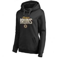 Boston Bruins Dámska - Nostalgia Pullover NHL Mikina s kapucňou