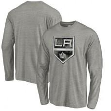 Los Angeles Kings - Distressed Team Tri-Blend NHL Tričko s dlhým rukávom