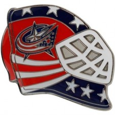 Columbus Blue Jackets - Goalie Mask NHL Odznak