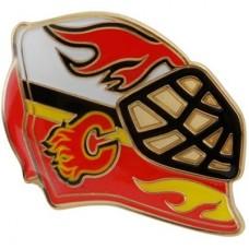 Calgary Flames - Goalie Mask NHL Odznak
