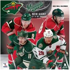 Minnesota Wild - 2016 NHL Nástenný Kalendár