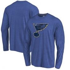 St. Louis Blues - Distressed Primary Logo NHL Tričko s dlhým rukávom