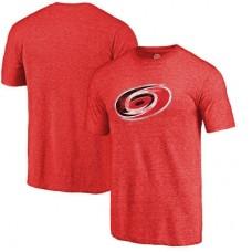 Carolina Hurricanes - Distressed Primary Logo NHL Tričko